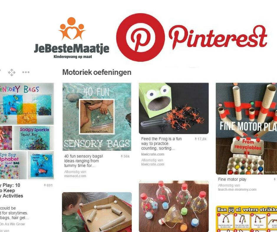Pinterest, gastouder stimuleert, gastouder werkplan